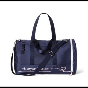 Vineyard vines for Target - Navy & Pink Duffle Bag